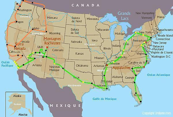 The Cousins USA Road Trip Cities In Months Travel Ganas - Us map with cities and roads